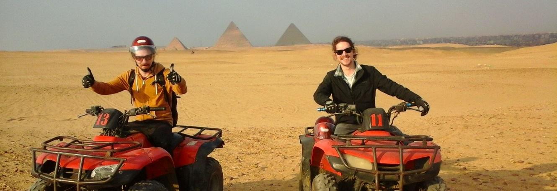 Desert Safari by Quad Bike at Giza Pyramids