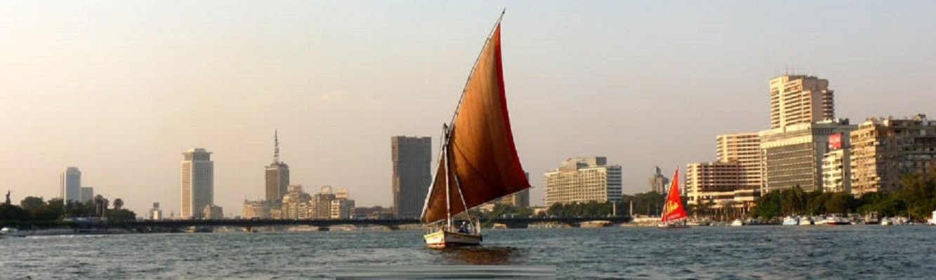 Felucca trip on the Nile in Cairo