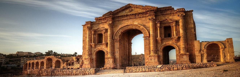 Day Tour to Jerash, Ajloun and Umm Qais from Amman