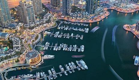 Dubai Stop Over Tour map