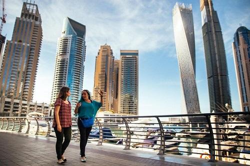 Modern Dubai City Tour map