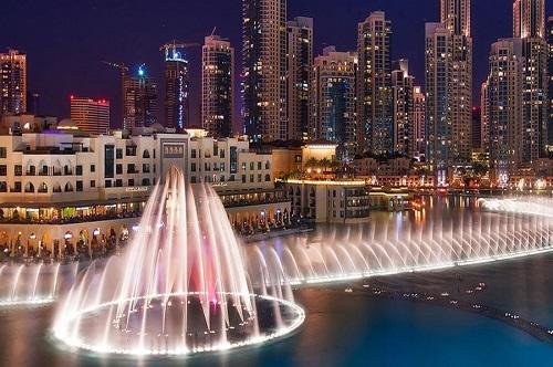 Dubai City Tour map