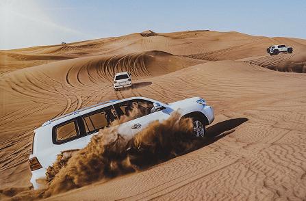 Deluxe Dubai Safari Tour map