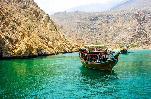 Musandam Dibba Cruise map