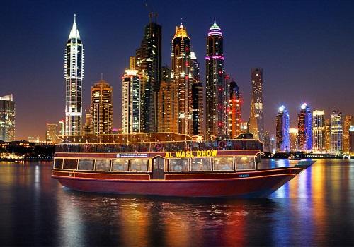 Dubai Marina cruise map