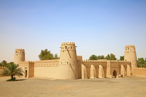Al Ain Oasis Tour from Abu Dhabi map