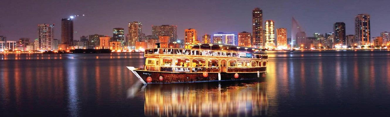 Abu Dhabi Dhow Cruise Dinner