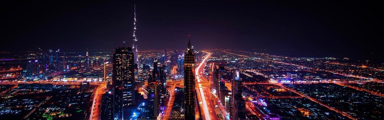 Dubai Tour by Night From Dubai Airport