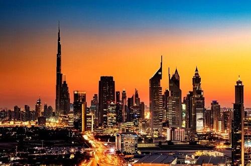 Dubai Tour by Night From Dubai Airport map