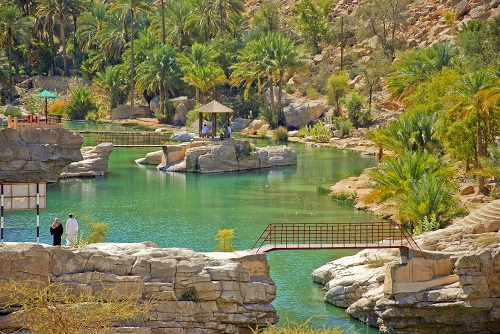 3 Days in Oman, Oman Short Break map