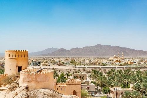 Highlights Of Oman Trip map