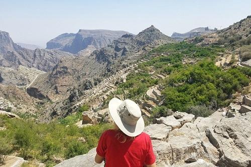 Nizwa and Jebel Akhdar Tour map