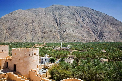 Barka, Nakhal and Rustaq Tour from Muscat map