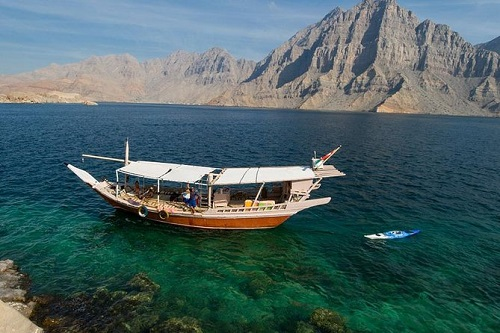 Fjords of Musandam Half Day Dhow Cruise map