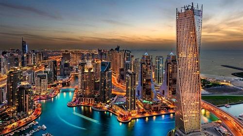 8 Days Oman & Dubai Tour Package map