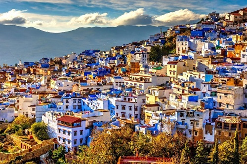5 Days in Tangier and ChefChaouen map