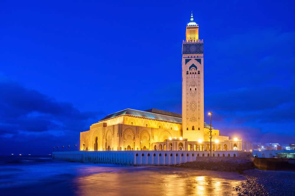 Casablanca City Tour map