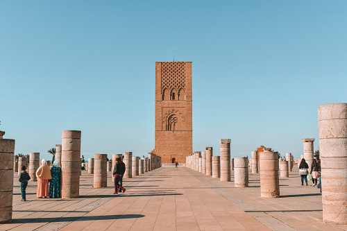 Rabat Day Tour from Casablanca map