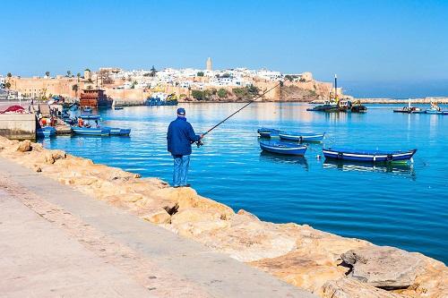 Rabat City Tour map