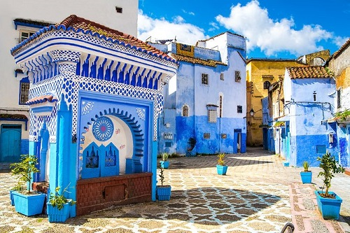 Chefchaouen Day Tour from Rabat map