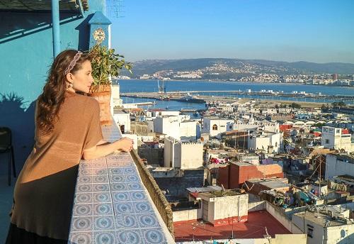 Tangier City Tour map