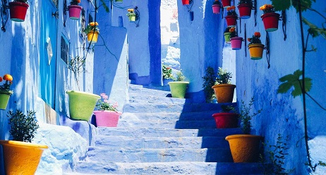 Fez to Chefchaouen Day Trip map