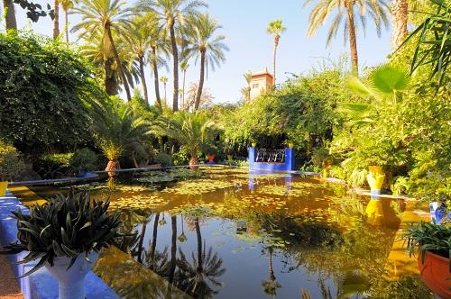 Marrakech Excursion map