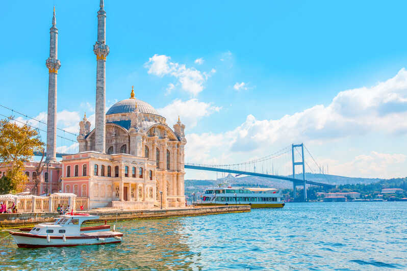 4 Days Istanbul Package Tour map