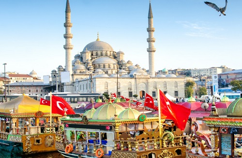 Istanbul City Tour map