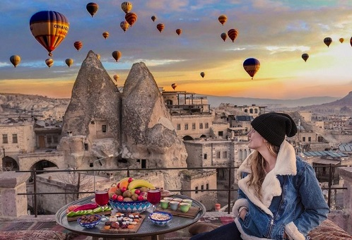 Cappadocia from Istanbul Day Trip map