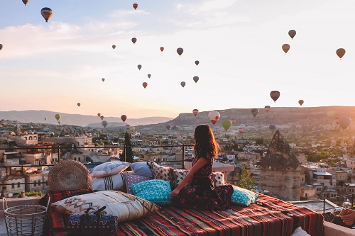 2 Days Cappadocia Tour from Istanbul by Flight map