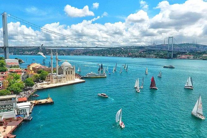 Bosphorus Boat Tour map
