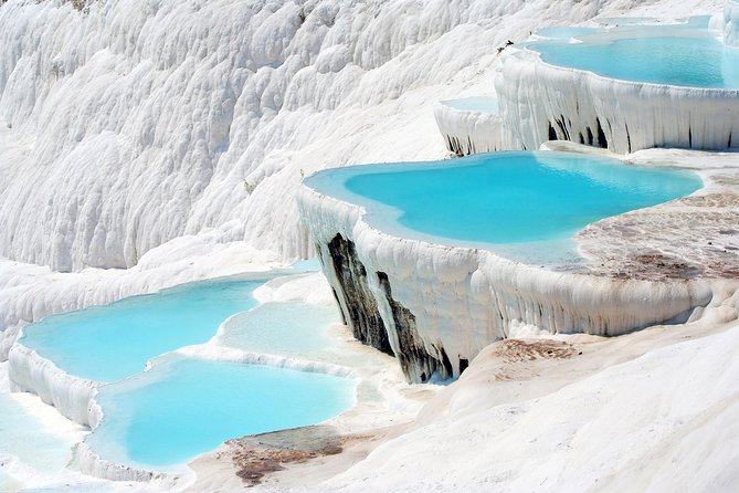 Full Day Pamukkale Tour By flight map