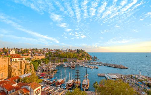Antalya City Tour map