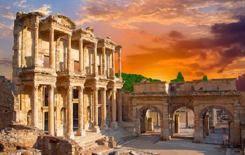Ephesus Tour from Kusadasi map