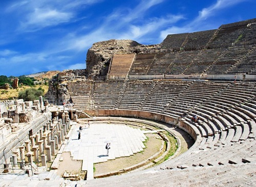Private Tour To Ephesus and Artemis Temple map