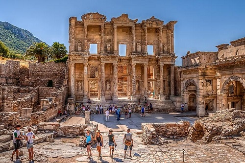 Day Trip to Ephesus from Kusadasi Port map