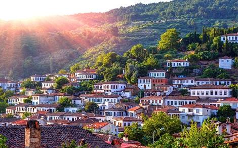 Day Tour to Ephesus and Sirince Village from Kusadasi Port map