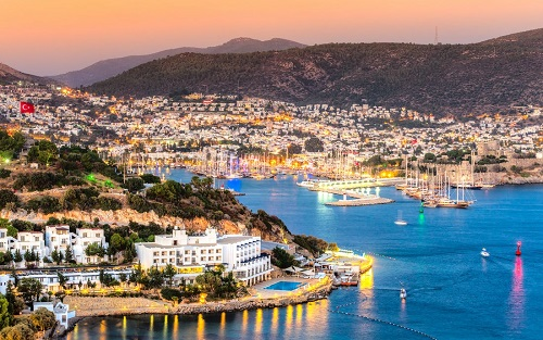 Bodrum Sightseeing Tour map
