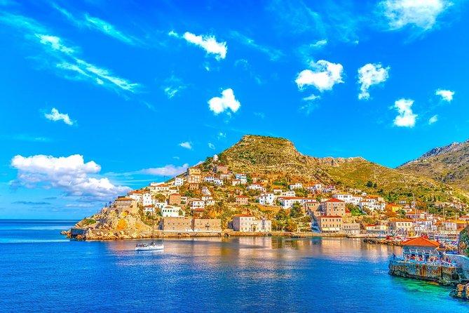 Athens and 3 Islands Tour map