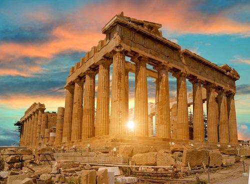 5 Days Athens Classic Tour map