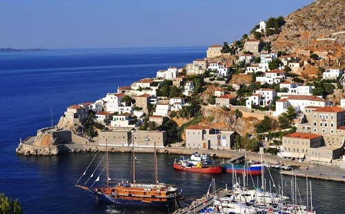 Athens Santorini Vacation Package map
