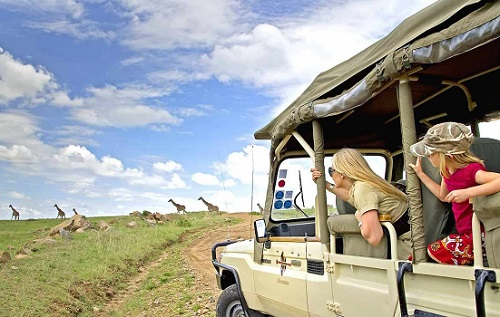 7 Days Kenya Uganda Safari Tour map