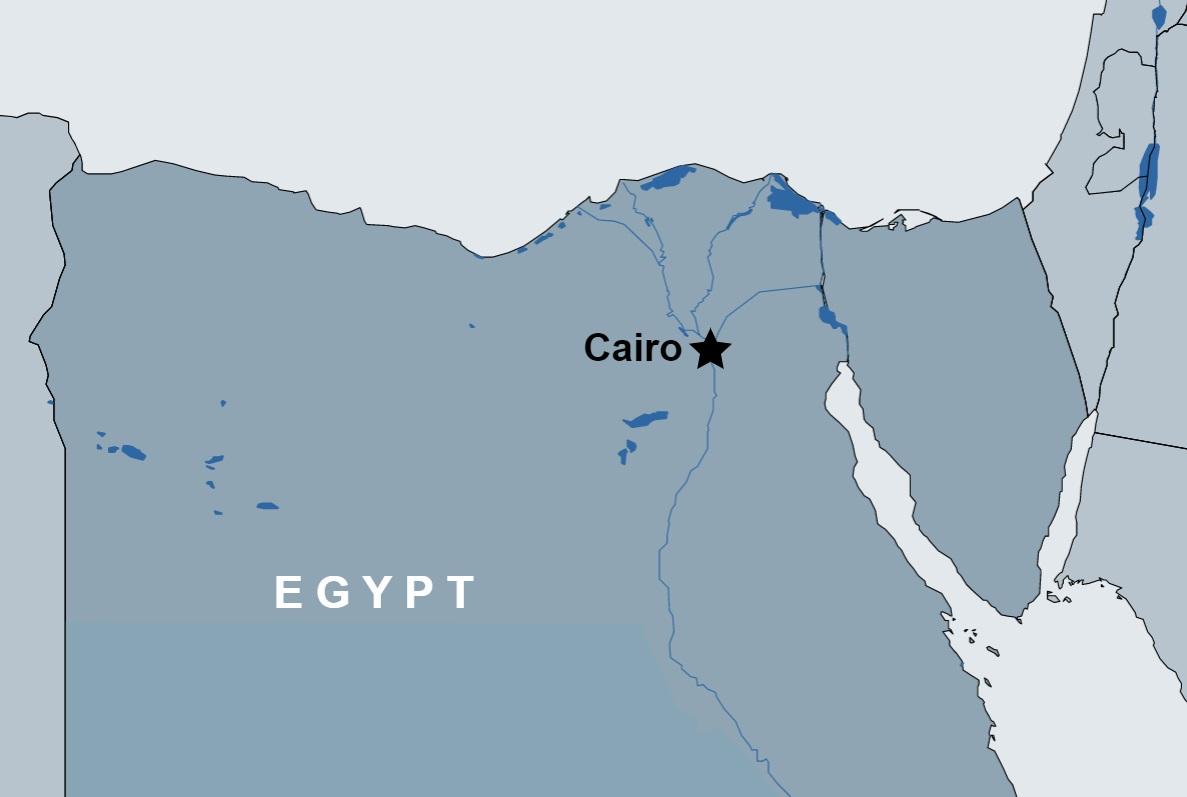 2 Day Cairo Tour map