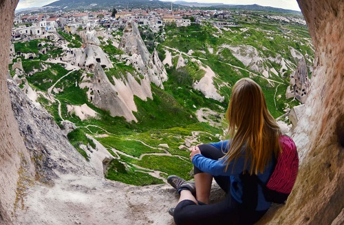 Green Tour Cappadocia (Full Day Tour) map
