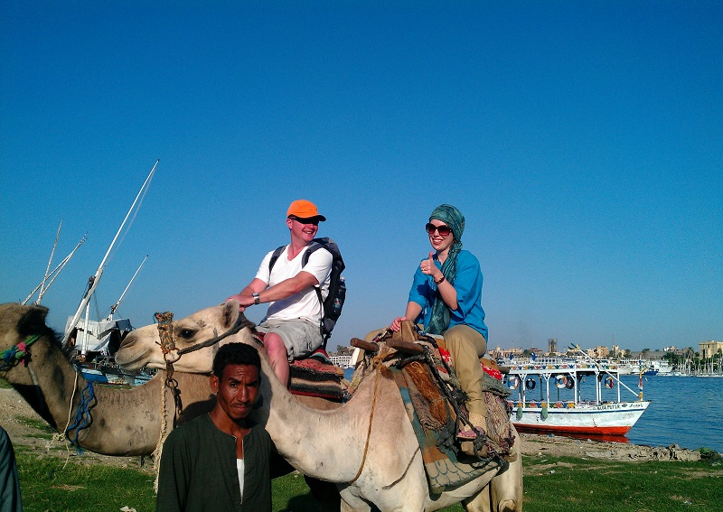 Luxor Camel Ride