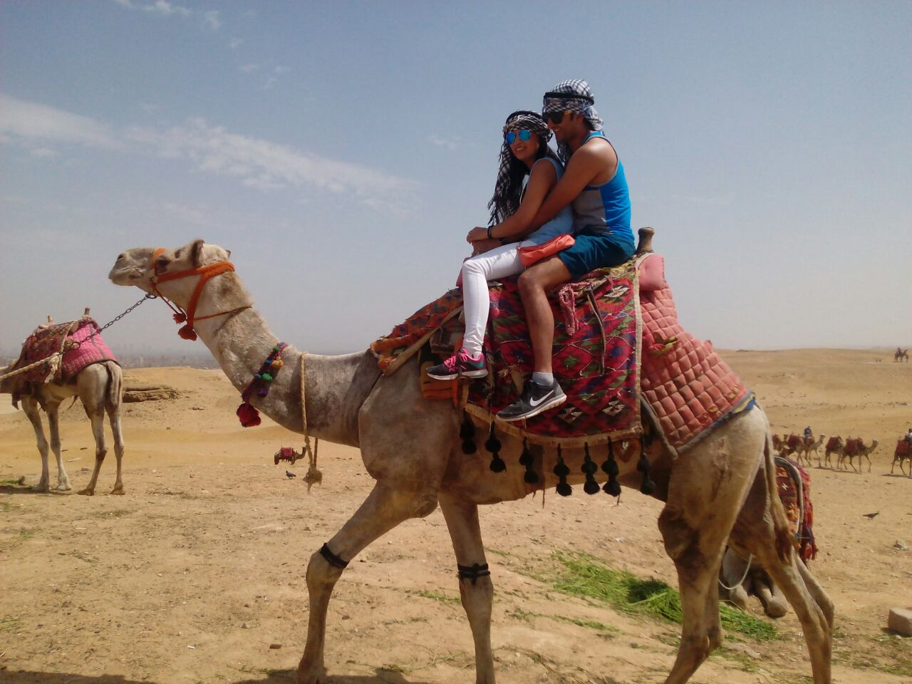 Camel Ride Trip at the Pyramids
